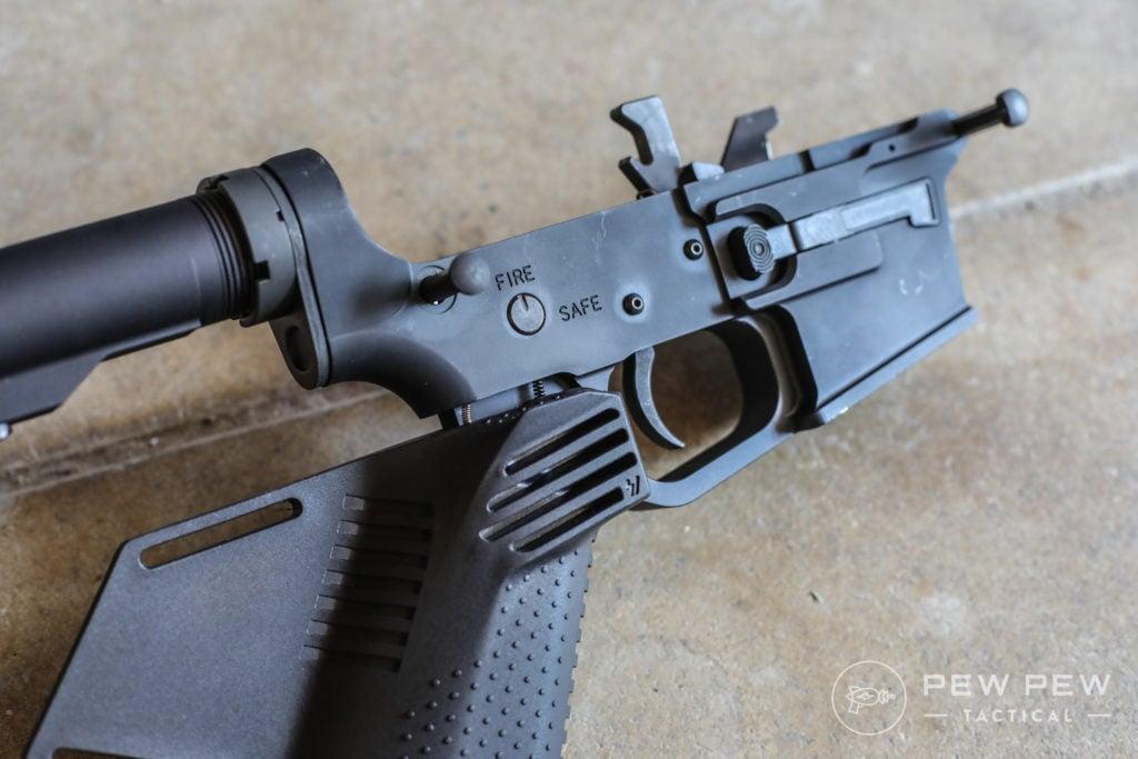 PSA PX-9 Double Detent