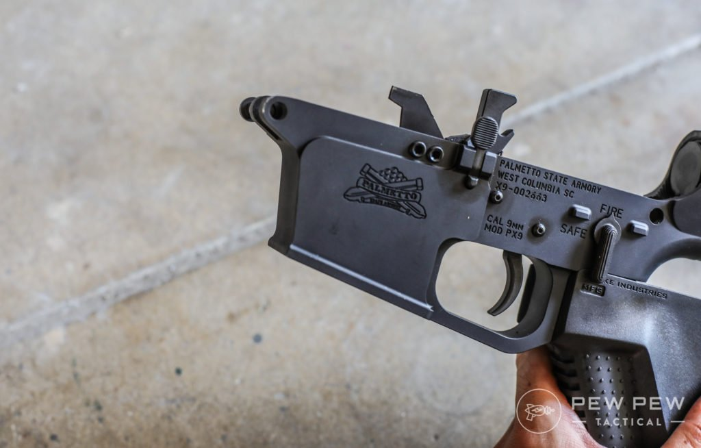 PSA PX-9 Sharp Lower Receiver