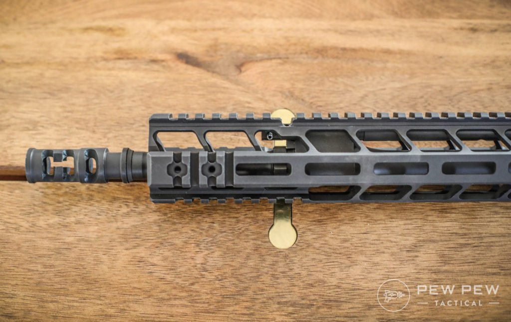 PWS MK116 Side Rail and FSC556 Compensator