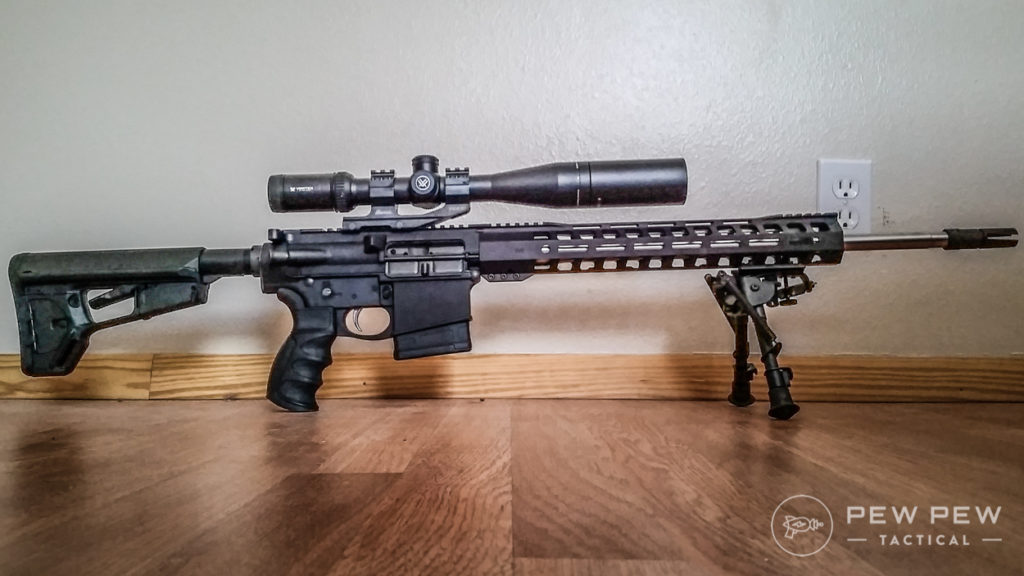 Reader's PSA AR-10 Build, Courtesy Derek B.