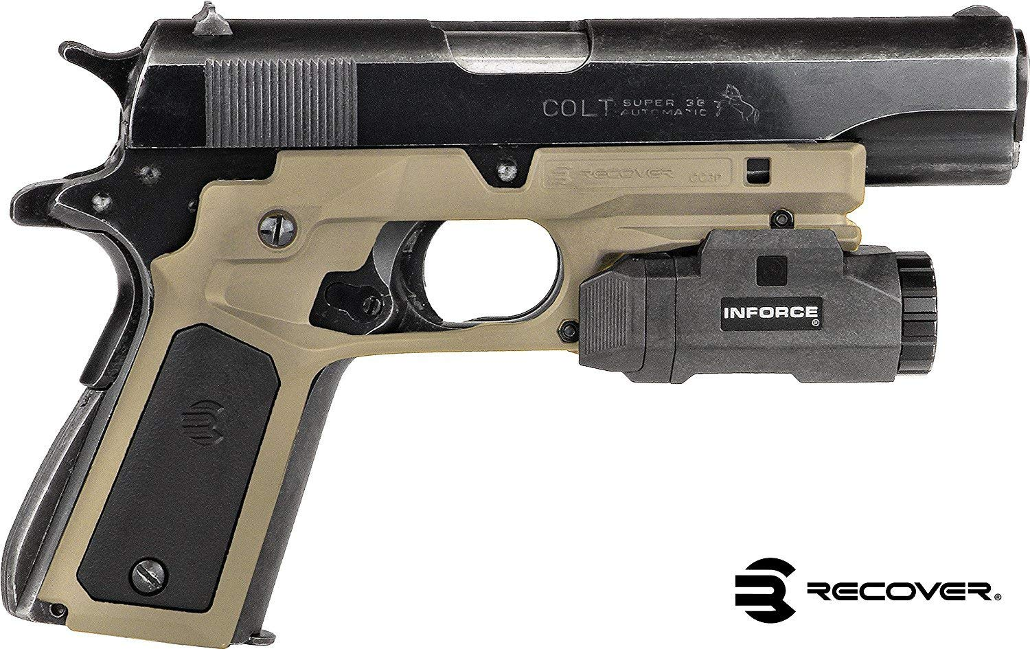 Recover Tactical CC3P Grip and Rail System