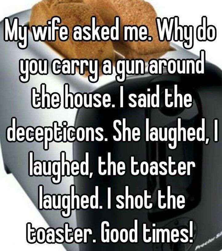Toaster joke