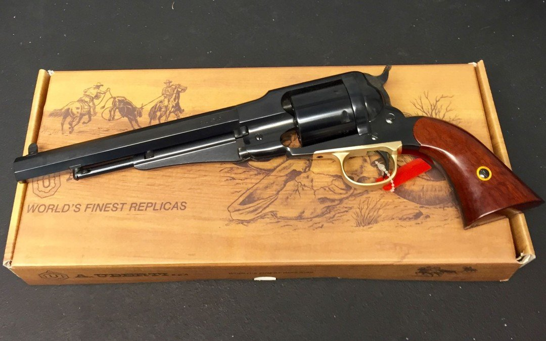review remington model 1858 uberti reproduction pew pew tactical