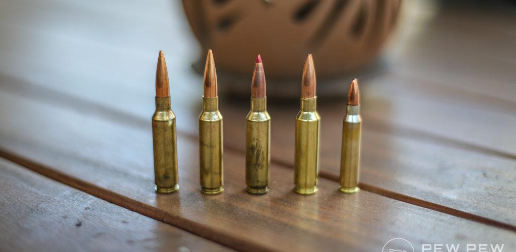 6.5 Creedmoor Ammo vs 5.56