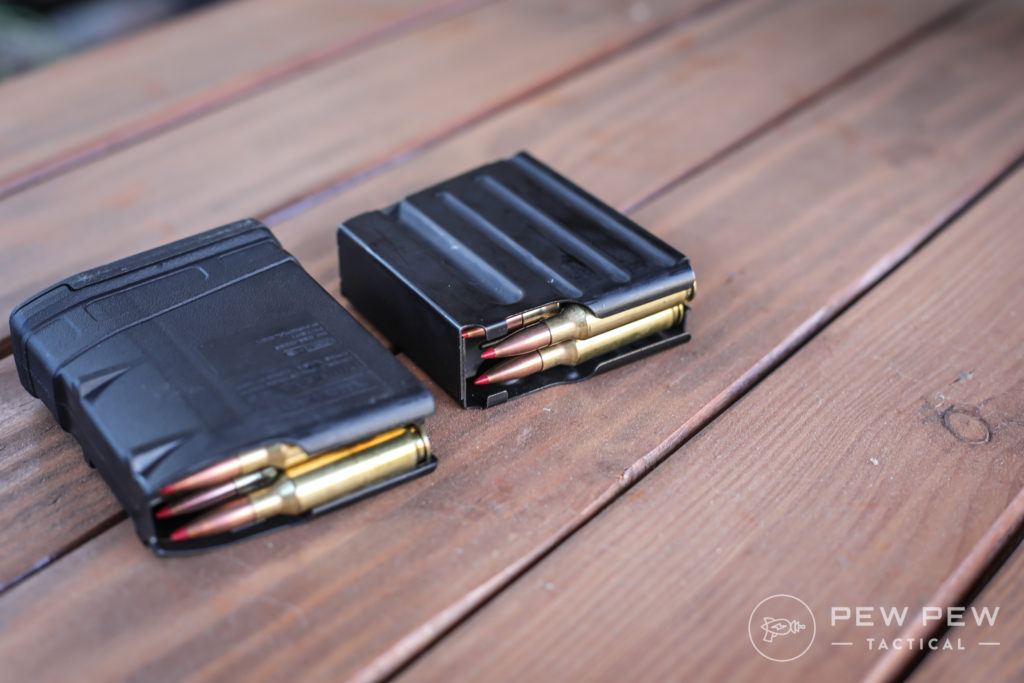 Magpul and DPMS Mags with 6.5 Creedmoor