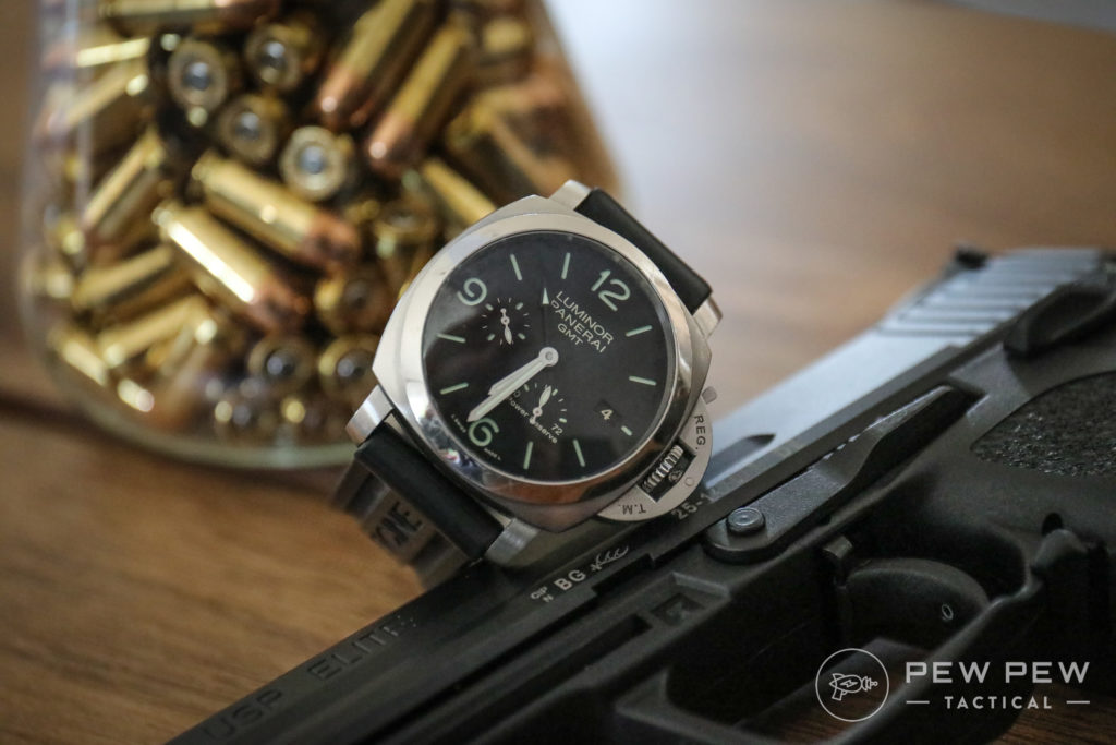 Panerai Luminor Power Reserve on HK Elite