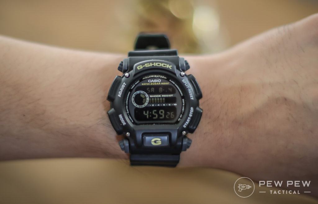 Casio G-Shock, Black on Black