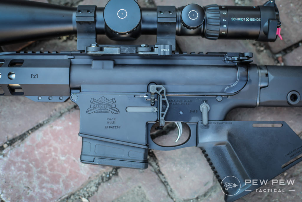 PSA AR-10 with Extended Bolt Release
