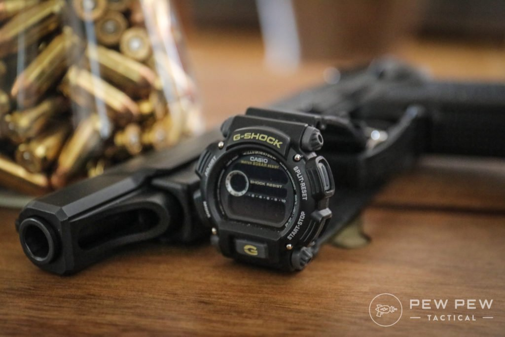 G-Shock Black on Black Screen