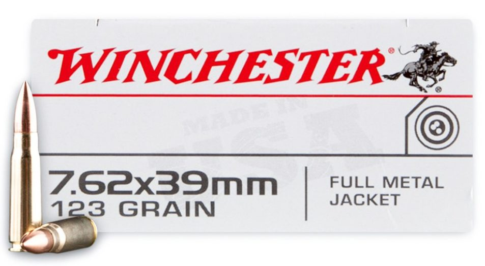 Winchester White Box 123gr 7.62x39