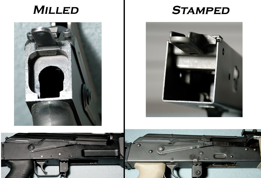 AK Stamped vs Milled, AK Operators Union