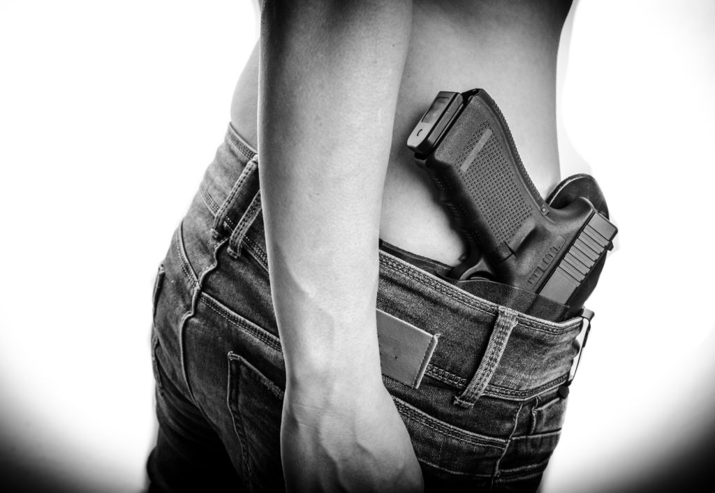 Concealed Carry, Shirtless
