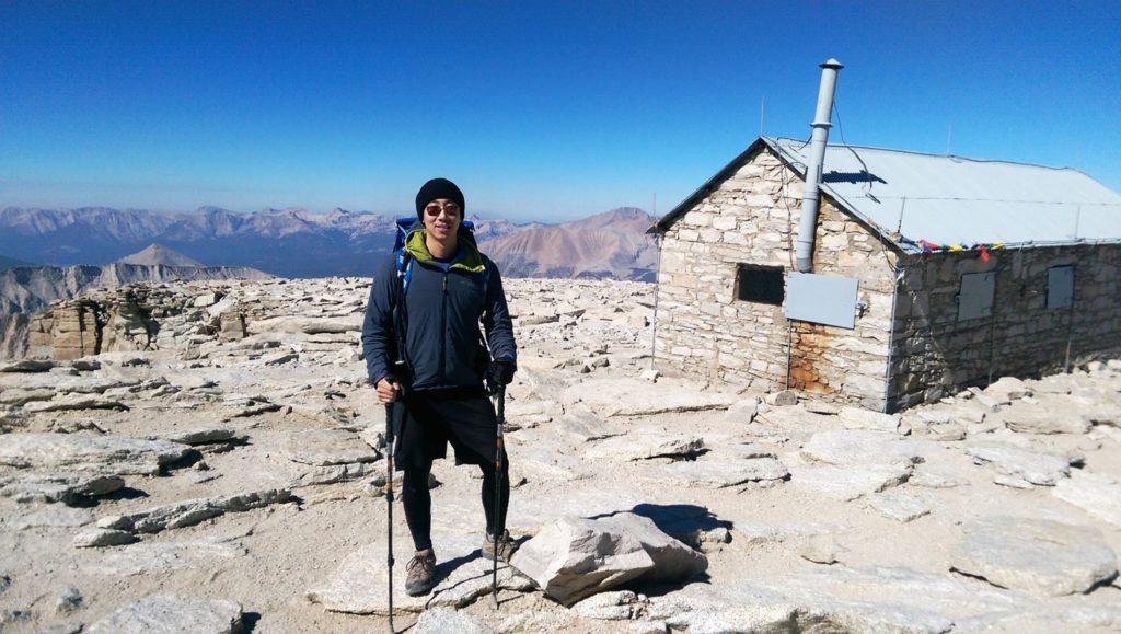 Eric on Mt. Whitney