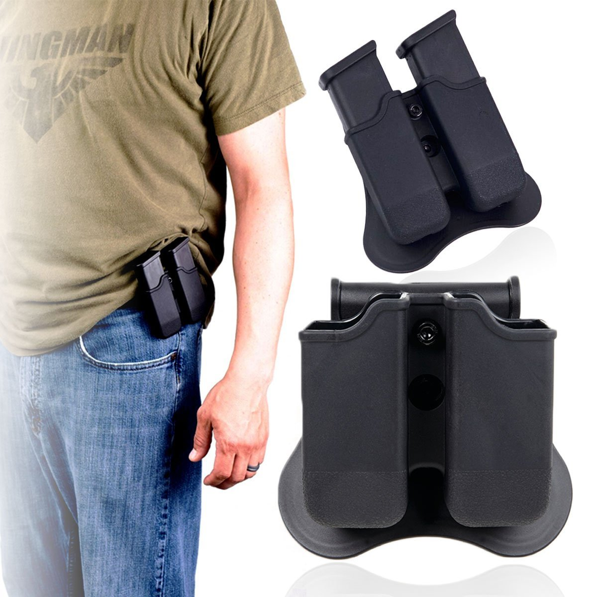 Double-Stack Glock Magazine Holster