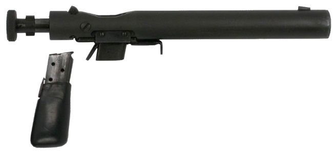 Welrod with Magazine Removed