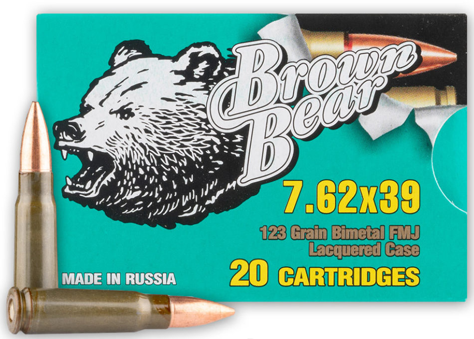 Brown Bear 123gr 7.62x39
