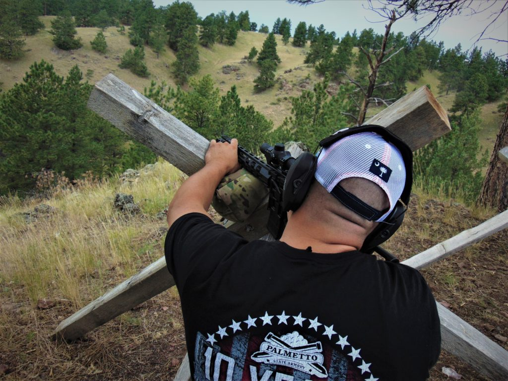 Author engaging targets out to 400 yards with ease with the Lead Star Arms Barrage chambered in .223 Wylde with Federal 5.56 NATO M193 ball ammo