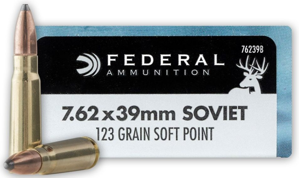 Federal Power-Shok 123gr 7.62x39