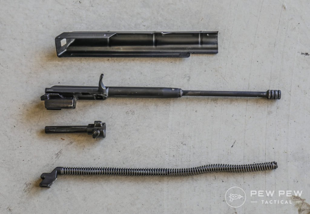 PSAK Bolt, Piston, Recoil Spring