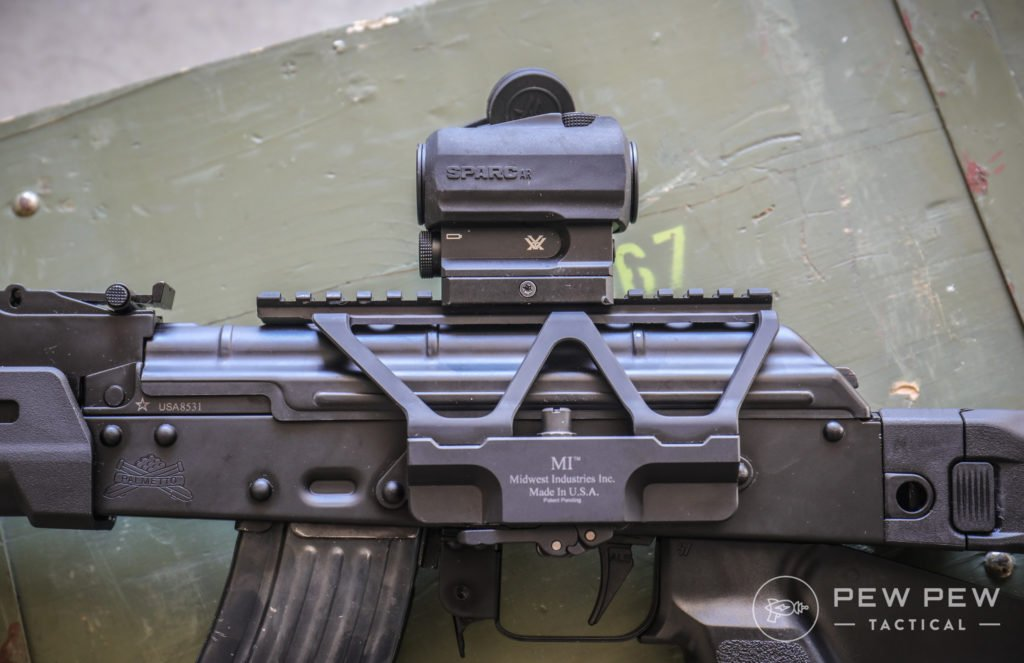 Midwest AK Optics Mount with Vortex