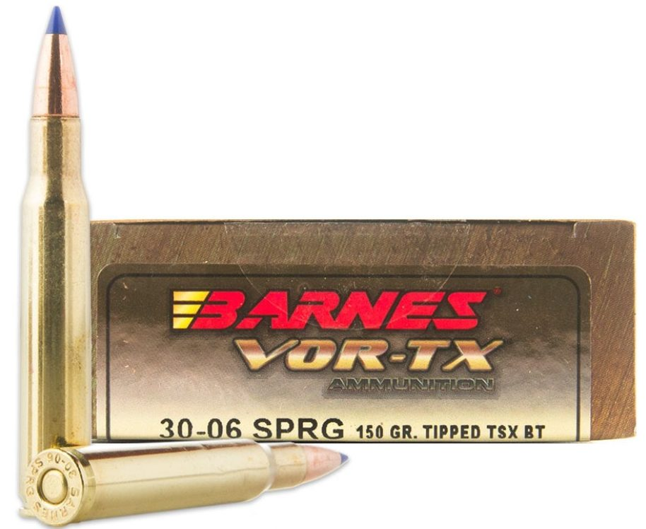 Barnes VOR-TX .30-06 150gr Tipped Triple-Shock X Hollow Points
