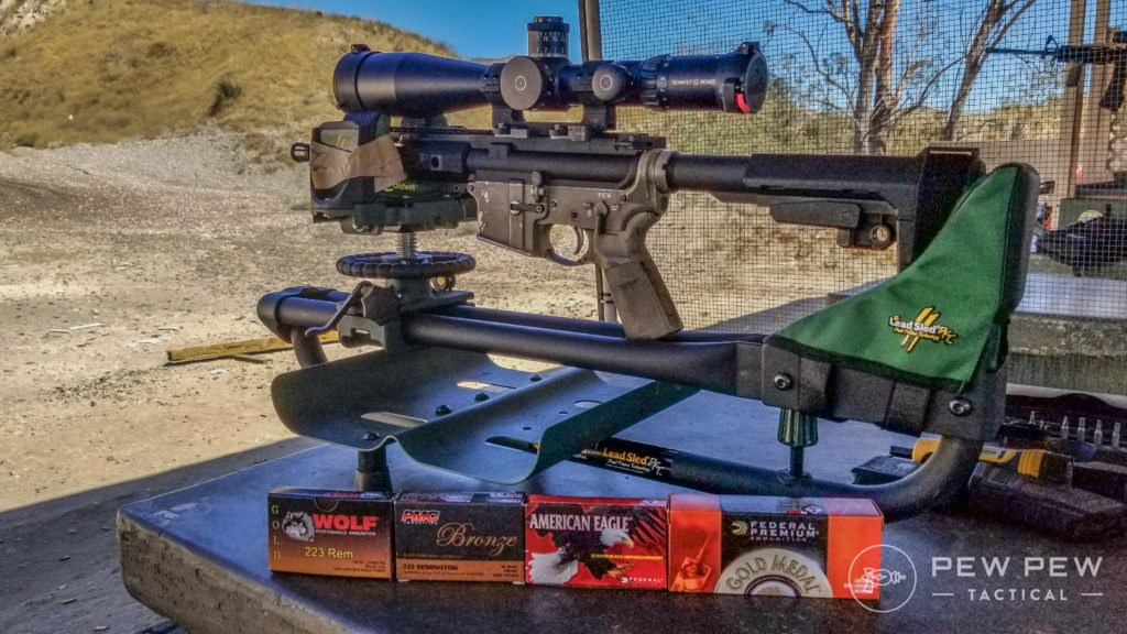 PSA AR-15 Pistol Testing