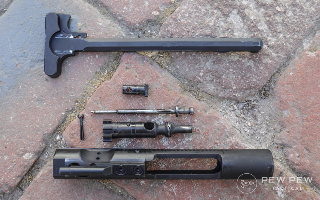 PSA AR-15 Pistol Upper BCG and CH