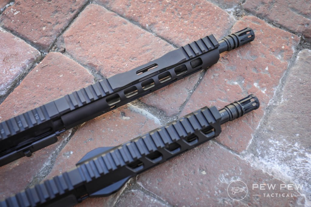 PSA AR-15 Pistols Handguards, Top