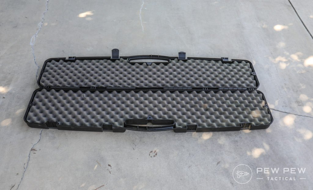 Stock Hard Rifle Case, Open