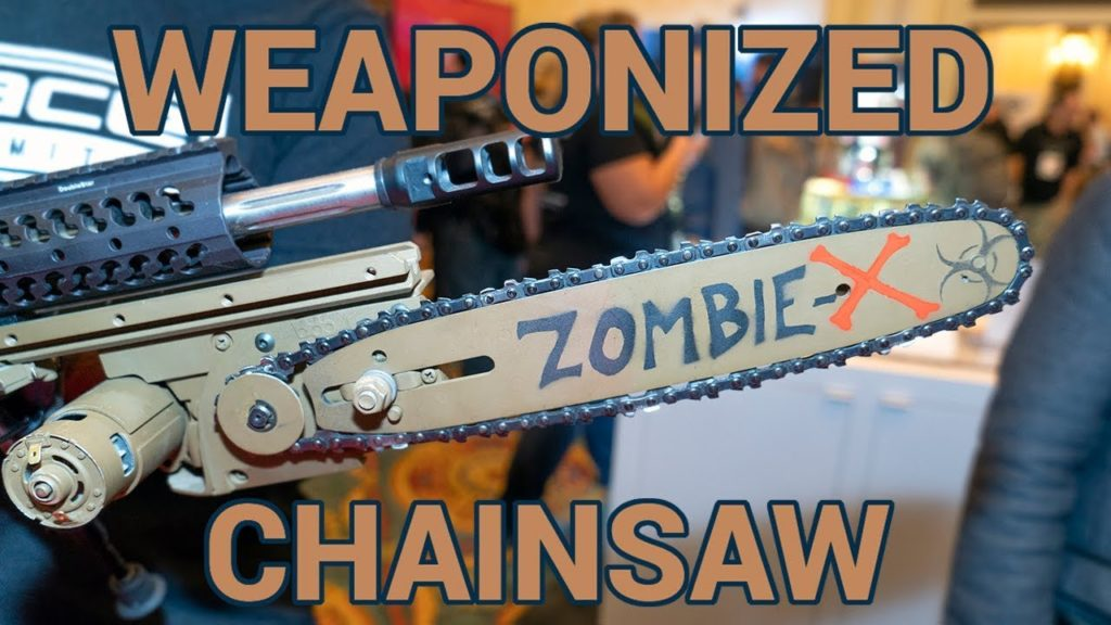 AR15 chainsaw