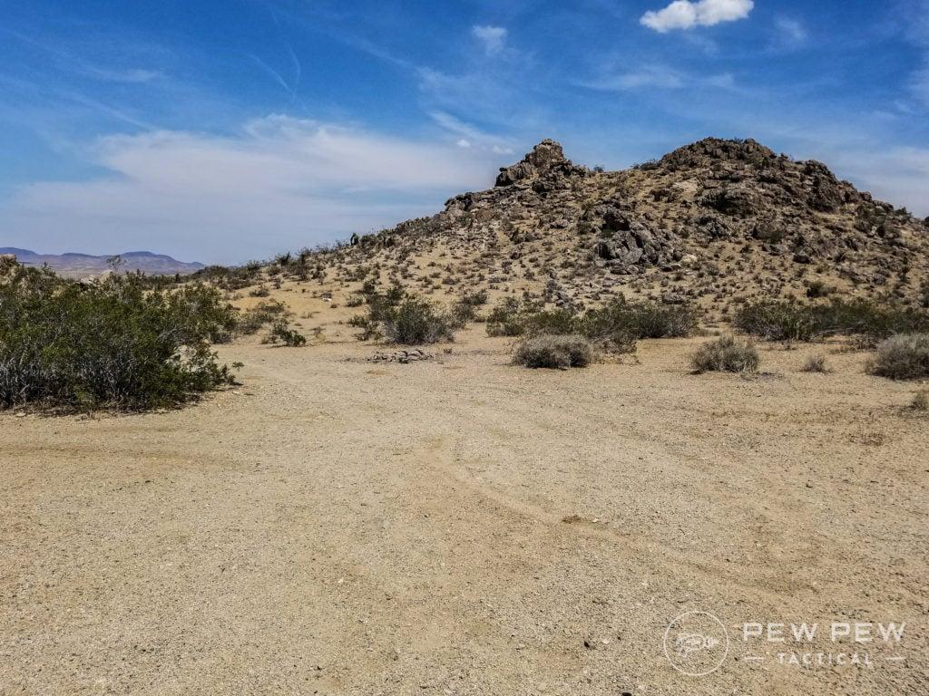 California desert testing range