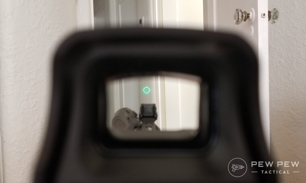 EOTech Green Reticle