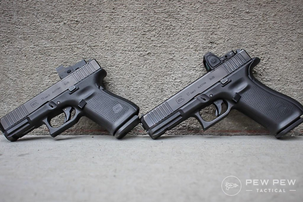 Glock 19 and 17 gen 5 MOS