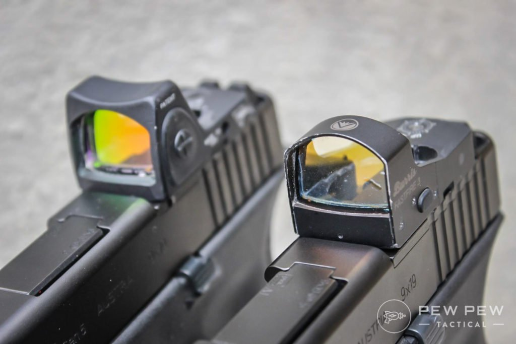 Glock MOS with Trijicon RMR and Buris Fastfire 3