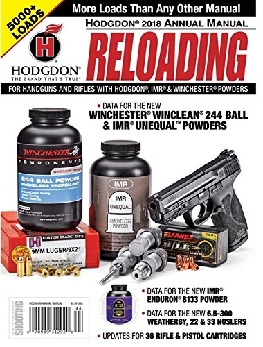 Hodgdon Powder Annual Reloading Manual