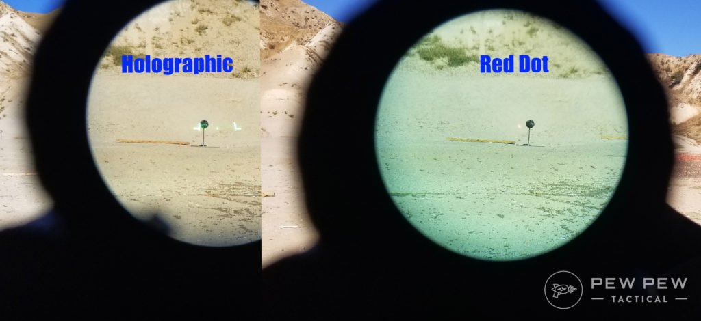 Holographic vs Red Dot 3x