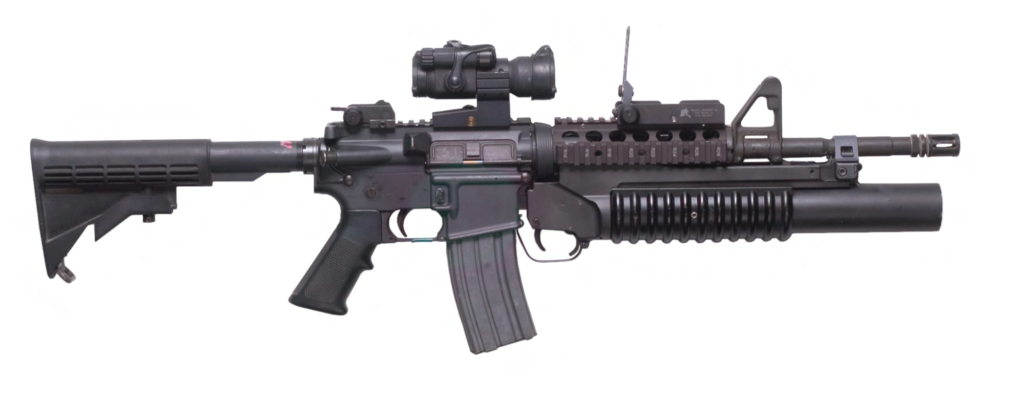 M4 Carbine with M203 Grenade Launcher