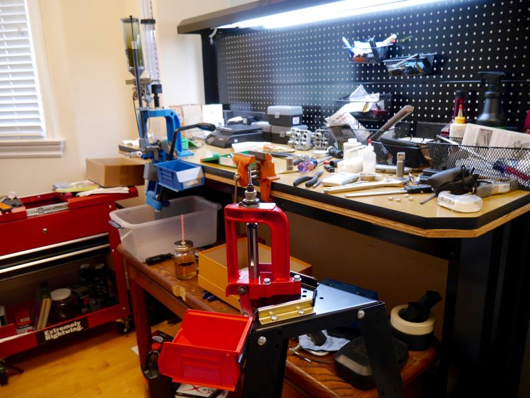 Pew Pew Tactical Founder and Editor, Eric Hung's Reloading Station