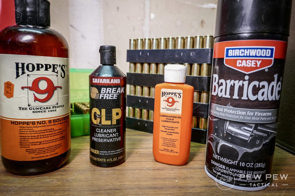 Quality Gun Care Products Will Keep Your Guns Pristine for Many Years