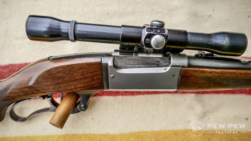 Savage Model 99 in 300 Savage with Weaver K4 Scope
