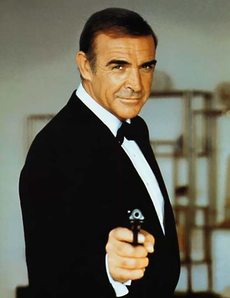 Sean Connery Carrying the Walther PPK (Again) for Never Say Never Again