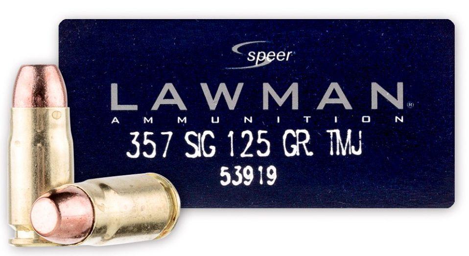 Speer Lawman .357 Sig Ammo