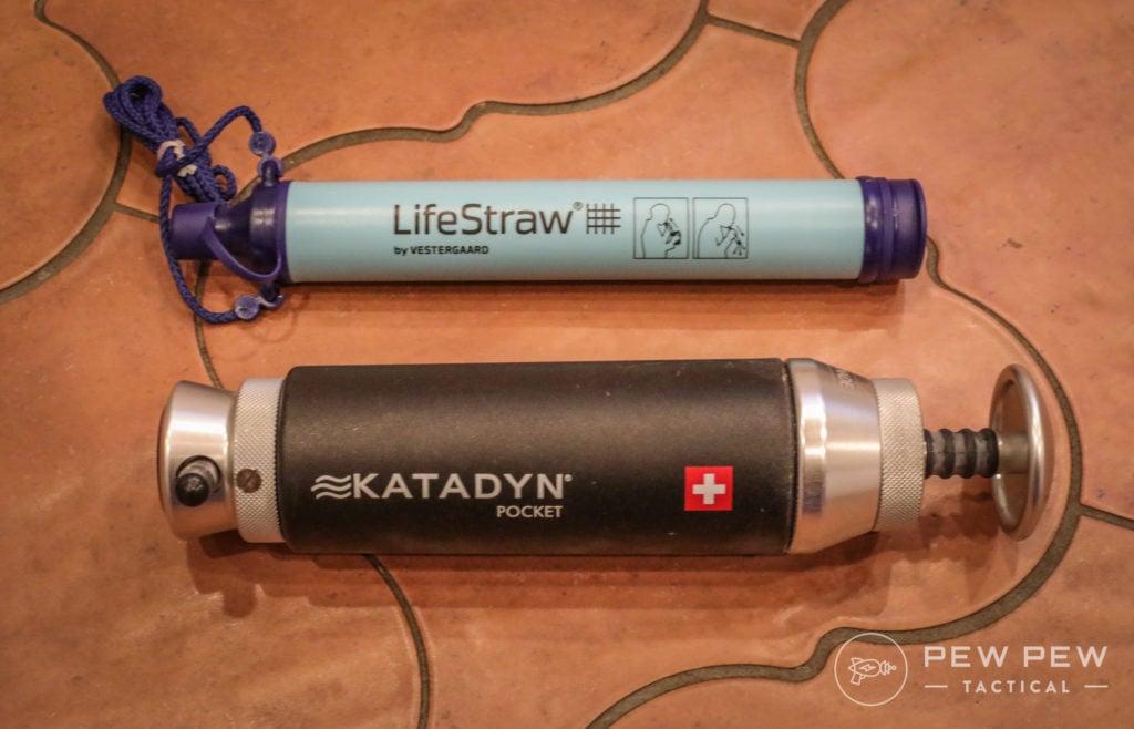 Water Purification, LifeStraw and Katadyn