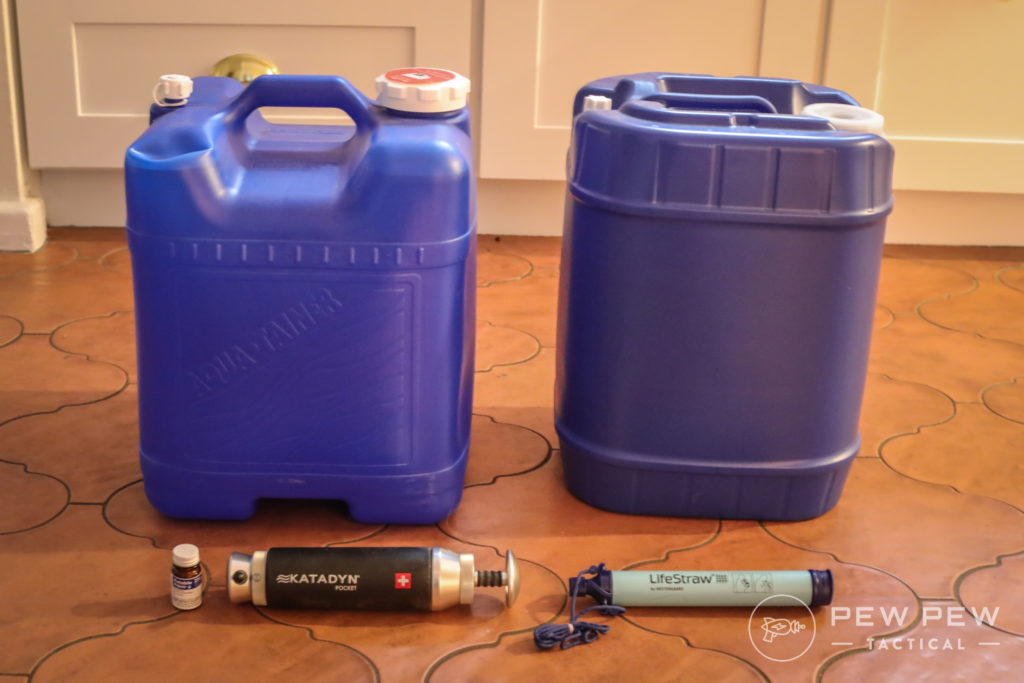 Water Storage & Purification for Emergencies