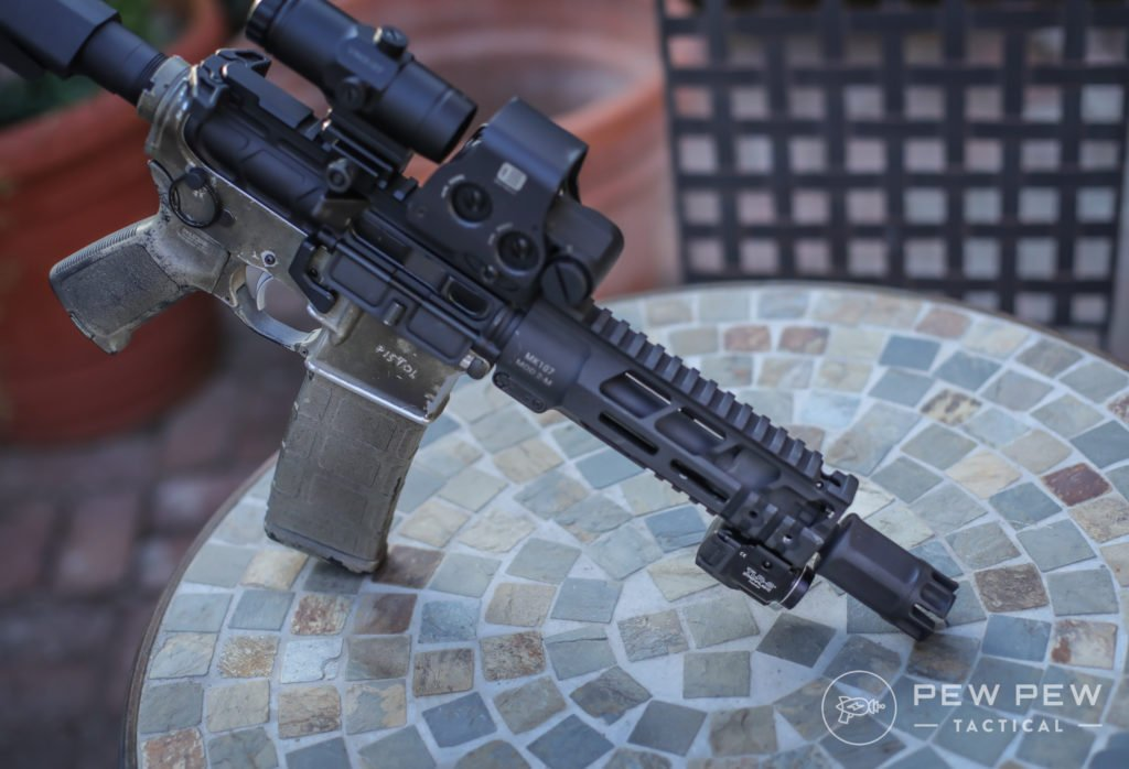 Streamlight TLR-8 on AR-15