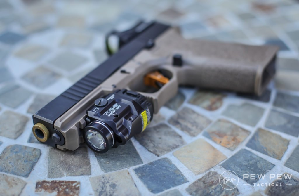 Streamlight TLR-8 on Glock