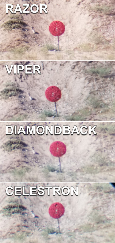 4 Spotting Scopes, 60x at 600 Yards