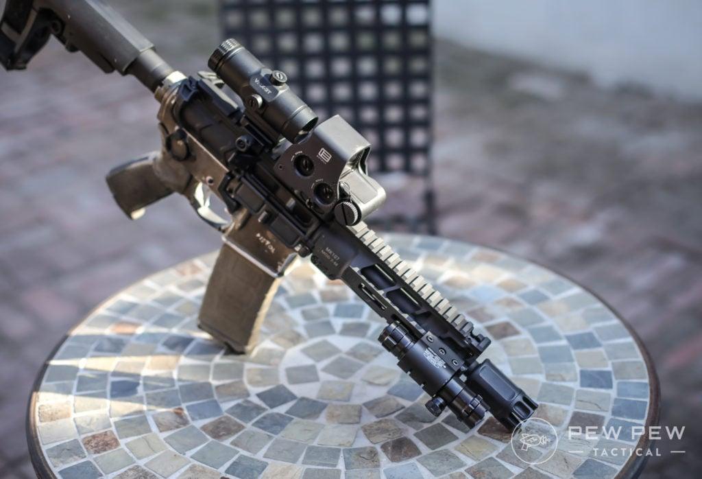 Pinty Laser on AR-15