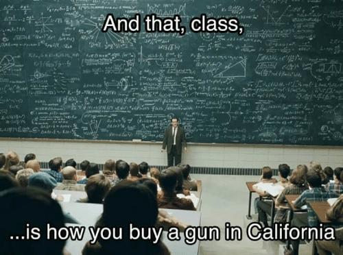 California Guns Meme