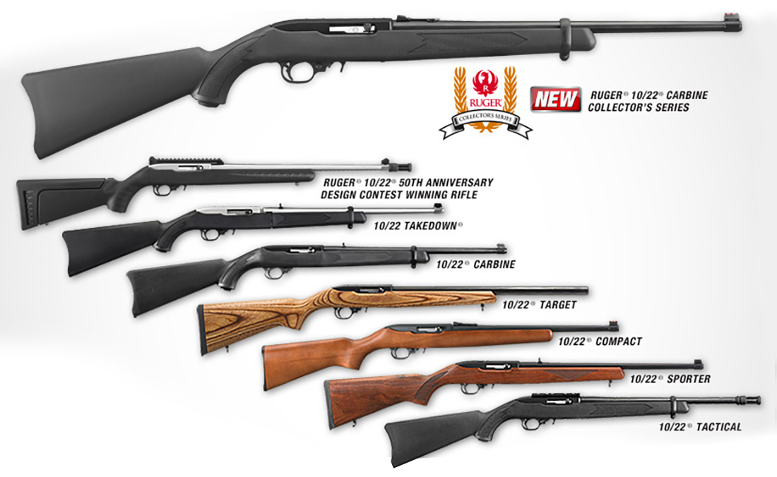 6 Best Ruger 10 22 Models Plinking Hunting Competition Pew Pew Tactical